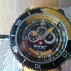 Relojes: MAGNIFICO RELOJ DE CUARZO NUEVO MODELO TOPAZ ACERO PULSERA. Lote 42895314