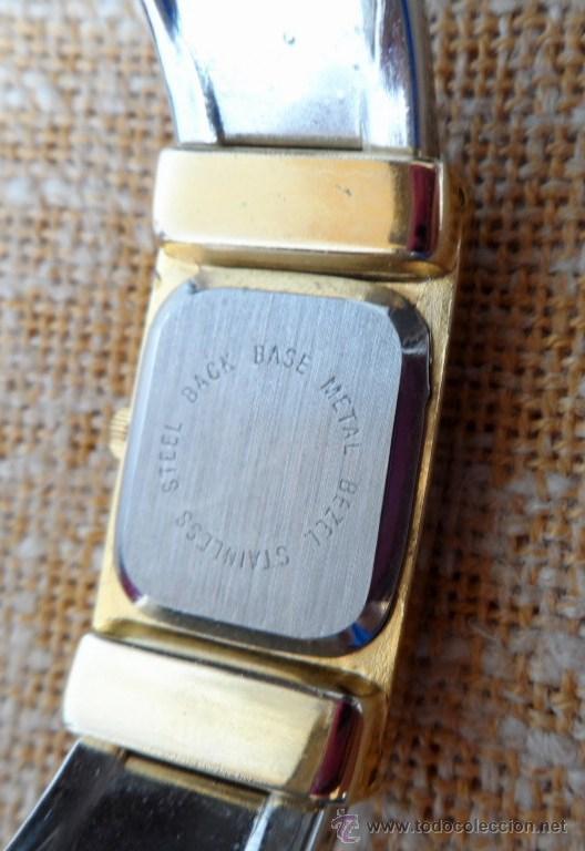 Relojes: Geneva Quartz Reloj para mujer, Correa de acero inoxidable flexible, Batería nueva - Foto 6 - 43019417