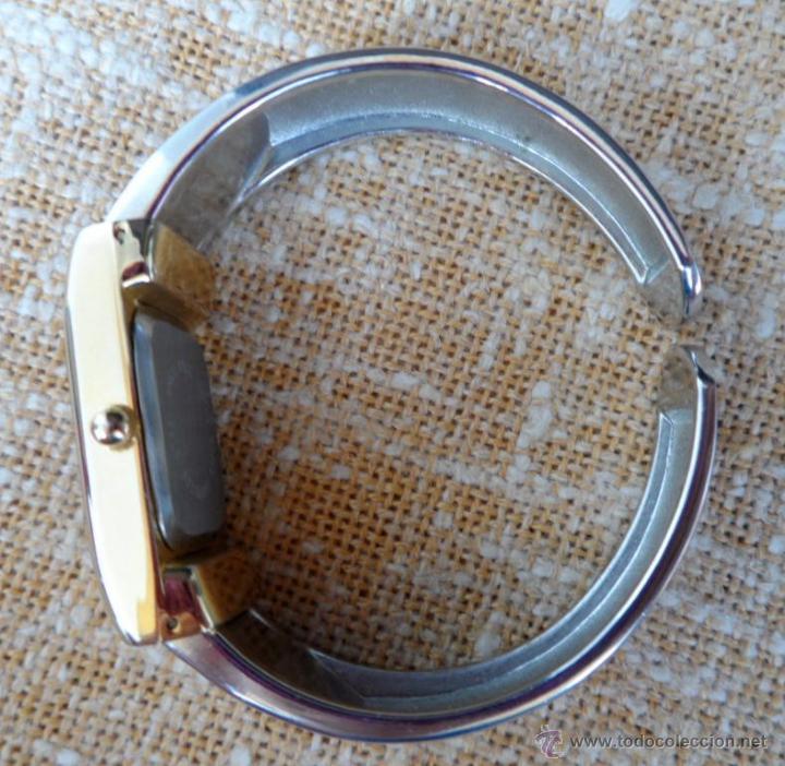 Relojes: Geneva Quartz Reloj para mujer, Correa de acero inoxidable flexible, Batería nueva - Foto 10 - 43019417