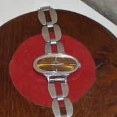 Relojes: THERMIDOR RELOJ DE MUJER CARGA MANUAL.PULSERA DE ACERO. AÑOS 60/70. Lote 43153814