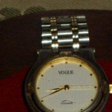 Relojes: RELOJ VOGUE,PULSERA DE ACERO. NUMERADO.. Lote 43192952