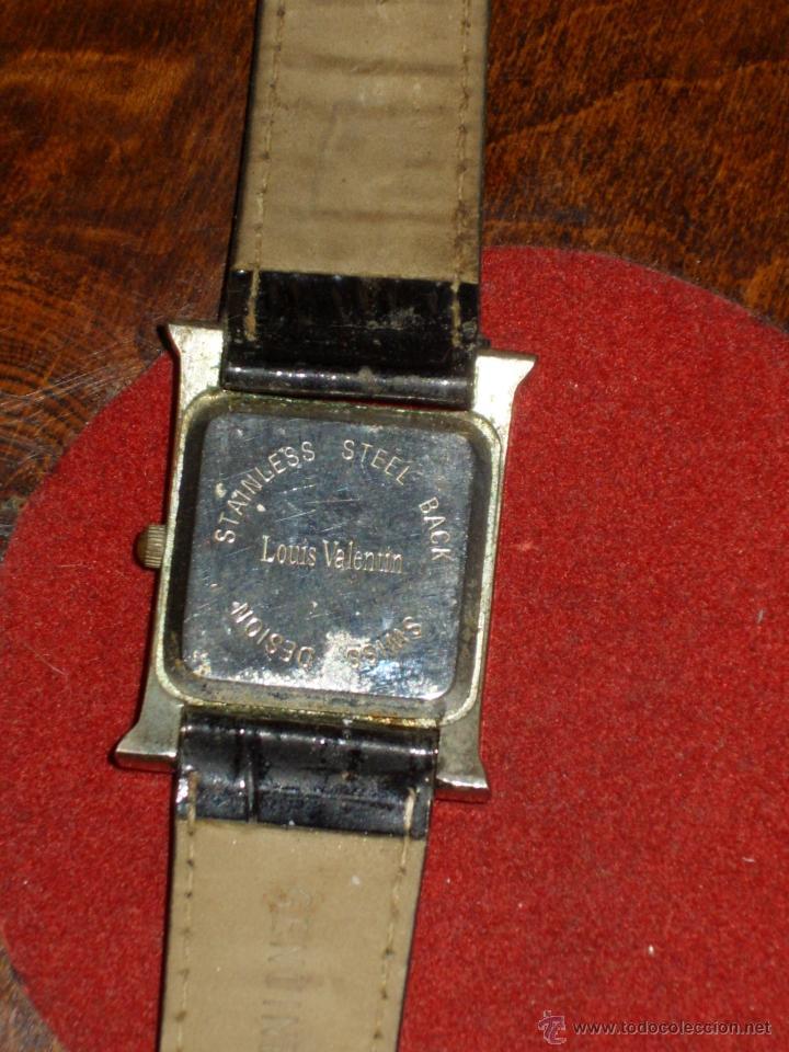 Relojes: RELOJ DE PULSERA ,LOUIS VALENTIN, QUART. - Foto 4 - 43299345