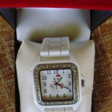 Relojes: GENEVA RELOJ PARA MUJER, DE BATERÍA (LA BATERÍA ES NUEVA), JAPAN MOVEMENT, RESISTENTE AL AGUA. Lote 43513564