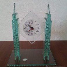 Relojes: RELOJ DE MESA CRISTAL. Lote 43644163