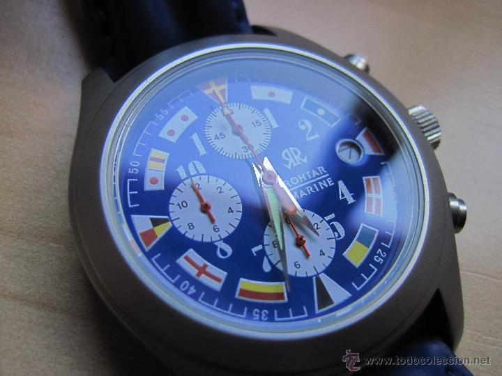 Cronografo Rothar 43720526 Marino Vendido En Venta Directa wPkNOX8n0