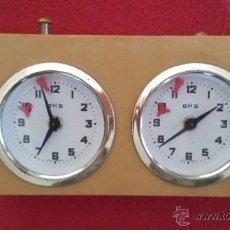 Relojes: ANTIGUO RELOJ AJEDREZ BHB. Lote 187122508