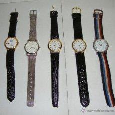 Relojes: LOTE DE 5 RELOJES VINTAGE.. Lote 44242101