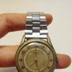 Relojes: RELOJ DE PULSERA A CUERDA. REGENT. ANCORA 15 RUBÍS. ACERO INOXIDABLE. FUNCIONA PERFECTAMENTE.. Lote 123421100