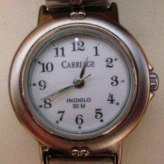 Relojes: TIMEX CARRIAGE INDIGLO RELOJ PARA MUJER, DE BATERÍA, RESISTENTE AL AGUA 30M. Lote 44278605