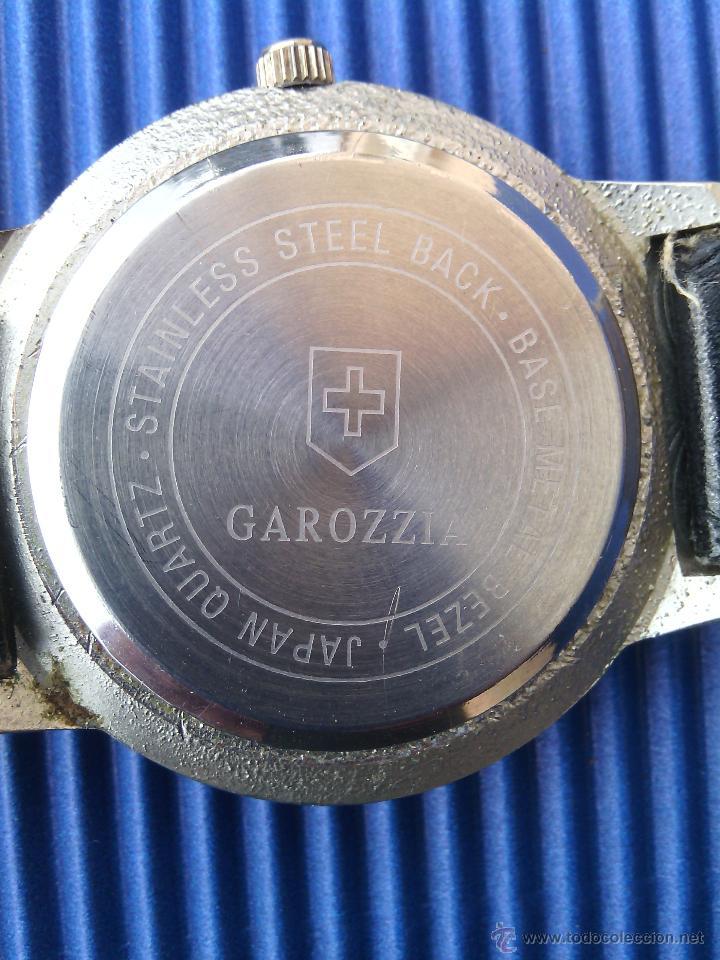 Relojes: RELOJ DE PULSERA PARA CABALLERO. ANALÓGICO. GAROZZIA. DISEÑO SUIZO.MECANISMO JAPONÉS. - Foto 3 - 44894309