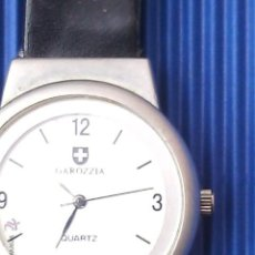 Relojes: RELOJ DE PULSERA PARA CABALLERO. ANALÓGICO. GAROZZIA. DISEÑO SUIZO.MECANISMO JAPONÉS.. Lote 44894309