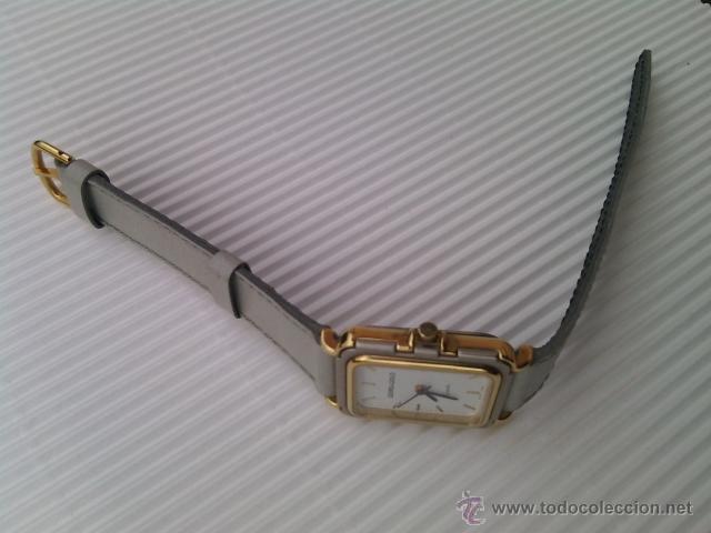 Relojes: RELOJ DE PULSERA PARA SEÑORA. ANALÓGICO GEMS & GOLD. SWISS MADE. Años 80. - Foto 3 - 44903291