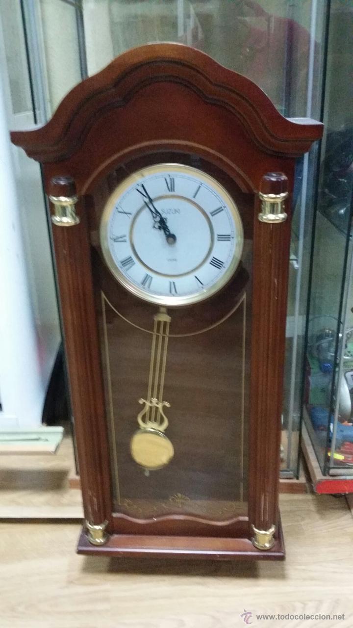 RELOJ DE PARED SUZUKI (Relojes - Relojes Actuales - Otros)