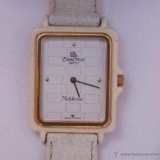 Relojes: EXACTUS NOBLESSE RELOJ PARA MUJER, DE BATERÍA (QUARTZ), AÑO RETRO (1984-1999), SWISS MADE. Lote 45076471