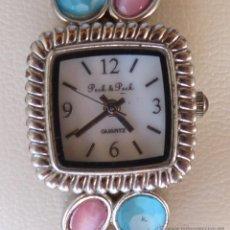 Relojes: RELOJ PARA MUJER MARCA PECK & PECK, MOVIMIENTO JAPONÉS, RELOJ DE BATERÍA (QUARTZ), USADO. Lote 45381397