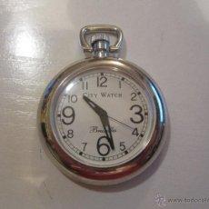 Relojes: RELOJ DE BOLSILLO A PILAS. Lote 45396948