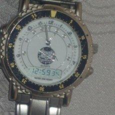 Relojes: RELOJ MAGNUM,ANALOGICO Y DIGITAL.CORREA DE ACERO ORIGINAL.MAQUINARIA EXCELENT. Lote 45440352