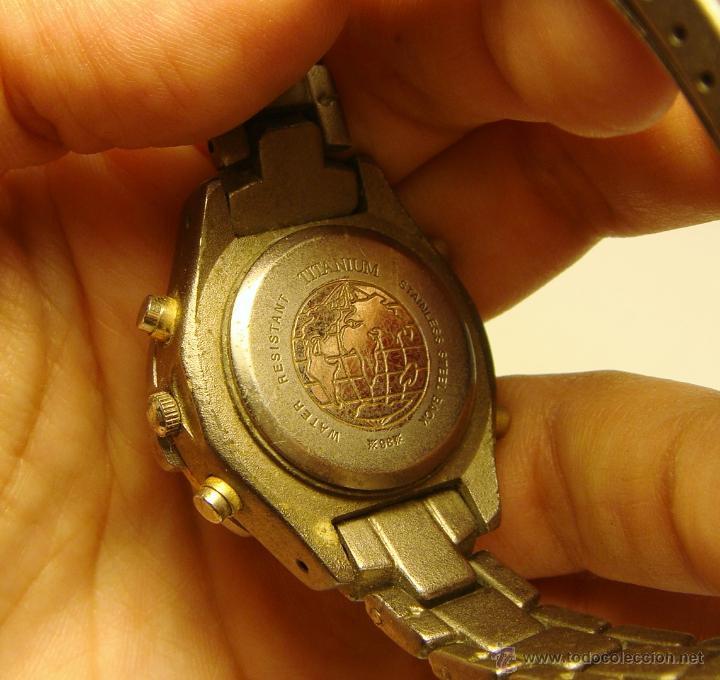 Relojes: Reloj de Pulsera. IRION - Quartz - Titanium. Water Resistant. - Foto 2 - 45480055