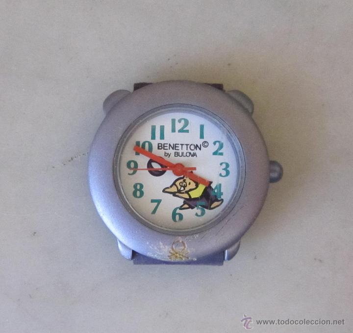 RELOJ DE PULSERA SUIZO, INFANTIL BULOVA PARA BENETTON. AÑOS 90 (Relojes - Relojes Actuales - Otros)