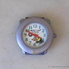 Relojes: RELOJ DE PULSERA SUIZO, INFANTIL BULOVA PARA BENETTON. AÑOS 90. Lote 45658388