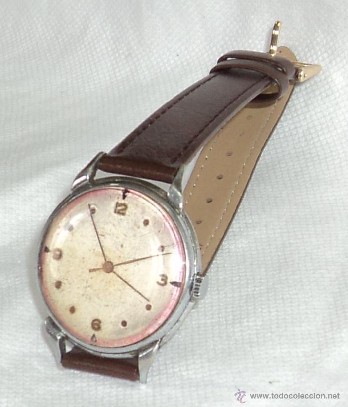 Reloj Pulso Rubies Calibre De Marconi 59 15 Made Antiguo Swiss Rolex 7gvYbf6y