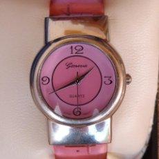 Relojes: RELOJ DE MUJER MARCA GENEVA QUARTZ, RELOJ DE BATERÍA (LA BATERÍA ES NUEVA), MOVIMIENTO JAPONÉS. Lote 45873324
