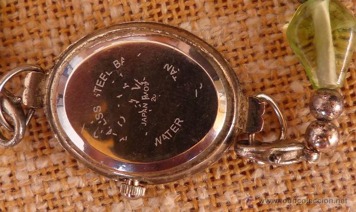 Relojes: Reloj para mujer marca Geneva Quartz, Movimiento Japonés, Reloj de batería (La batería es nueva) - Foto 8 - 45873458