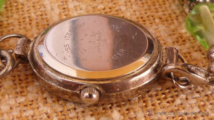 Relojes: Reloj para mujer marca Geneva Quartz, Movimiento Japonés, Reloj de batería (La batería es nueva) - Foto 9 - 45873458