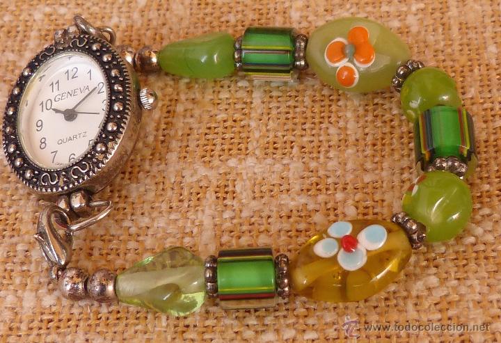 Relojes: Reloj para mujer marca Geneva Quartz, Movimiento Japonés, Reloj de batería (La batería es nueva) - Foto 10 - 45873458