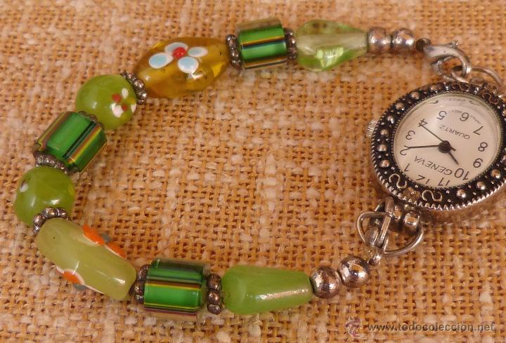 Relojes: Reloj para mujer marca Geneva Quartz, Movimiento Japonés, Reloj de batería (La batería es nueva) - Foto 12 - 45873458