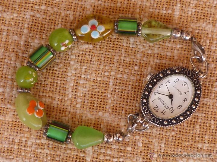 Relojes: Reloj para mujer marca Geneva Quartz, Movimiento Japonés, Reloj de batería (La batería es nueva) - Foto 13 - 45873458