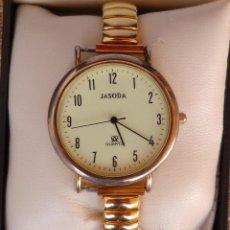 Relojes: RELOJ PARA MUJER MARCA JASODA QUARTZ, RELOJ DE BATERÍA (LA BATERÍA ES NUEVA). Lote 45873666