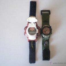 Relojes: LOTE DE 2 RELOJES DISNEY Y WARNER BROS. Lote 45927114