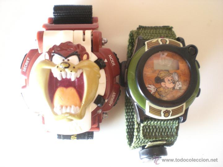 Relojes: LOTE DE 2 RELOJES DISNEY Y WARNER BROS - Foto 2 - 45927114