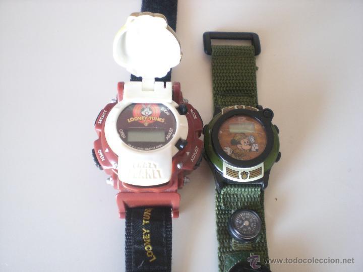 Relojes: LOTE DE 2 RELOJES DISNEY Y WARNER BROS - Foto 3 - 45927114