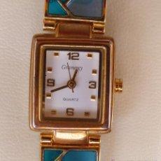 Relojes: RELOJ PARA MUJER MARCA GRAMERCY QUARTZ, RELOJ DE BATERÍA (LA BATERÍA ES NUEVA), MOVIMIENTO JAPONÉS. Lote 45986999