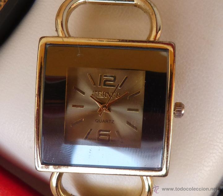 RELOJ PARA MUJER MARCA TERNER QUARTZ, RELOJ DE BATERÍA, LA BATERÍA ES NUEVA, MOVIMIENTO JAPONÉS (Relojes - Relojes Actuales - Otros)