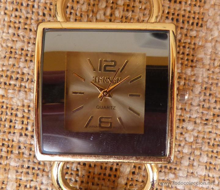 Relojes: Reloj para mujer marca Terner Quartz, Reloj De Batería, La batería es nueva, Movimiento Japonés - Foto 3 - 45987836