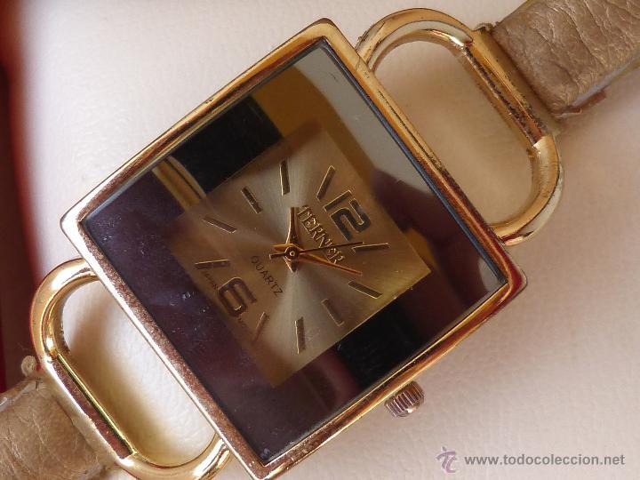 Relojes: Reloj para mujer marca Terner Quartz, Reloj De Batería, La batería es nueva, Movimiento Japonés - Foto 7 - 45987836