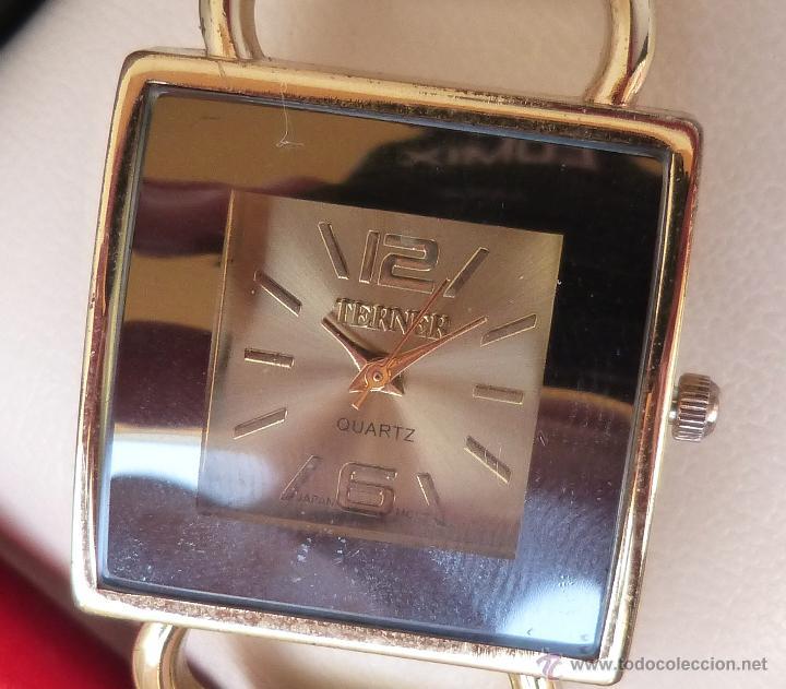Relojes: Reloj para mujer marca Terner Quartz, Reloj De Batería, La batería es nueva, Movimiento Japonés - Foto 8 - 45987836