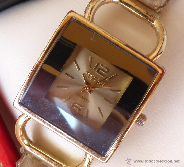 Relojes: Reloj para mujer marca Terner Quartz, Reloj De Batería, La batería es nueva, Movimiento Japonés - Foto 11 - 45987836