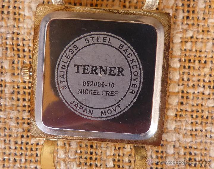 Relojes: Reloj para mujer marca Terner Quartz, Reloj De Batería, La batería es nueva, Movimiento Japonés - Foto 14 - 45987836