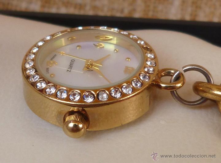 Relojes: Reloj marca Quartz para mujer, Reloj De Batería (La batería es nueva), Movimiento Japonés - Foto 2 - 45988091