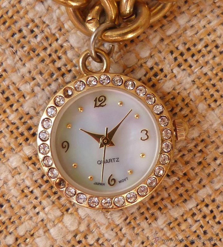 Relojes: Reloj marca Quartz para mujer, Reloj De Batería (La batería es nueva), Movimiento Japonés - Foto 6 - 45988091