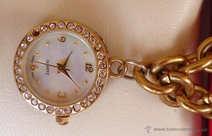Relojes: Reloj marca Quartz para mujer, Reloj De Batería (La batería es nueva), Movimiento Japonés - Foto 7 - 45988091