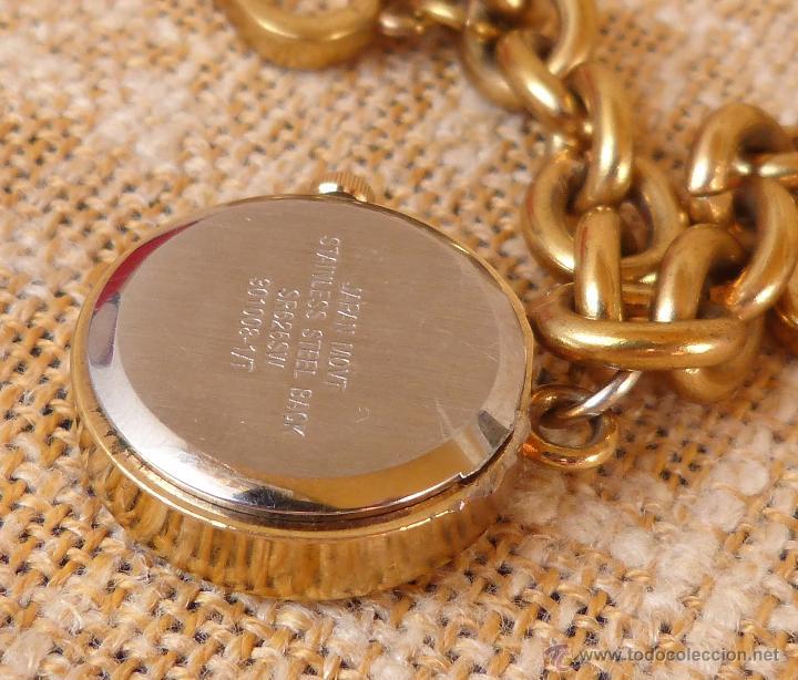 Relojes: Reloj marca Quartz para mujer, Reloj De Batería (La batería es nueva), Movimiento Japonés - Foto 12 - 45988091
