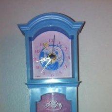 Relojes: PRECIOSO RELOJ MUSICAL DE PIE DISNEY PRINCESS CON BAILARINA ,. Lote 46162519