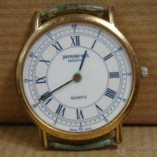 Relojes: RELOJ PULSERA RAYMOND WEIL - GENEVE CUARZO - ELECTROPLATED 18 GOLD -. Lote 46218510