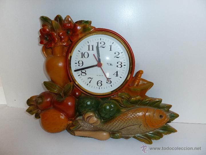 Reloj de pared de cocina de cuarzo muy original comprar for Reloj de cocina original