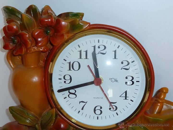 Reloj de pared de cocina de cuarzo muy original vendido - Reloj cocina original ...
